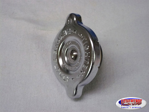 Radiator Cap 14 PSI 1960-73 Chrome