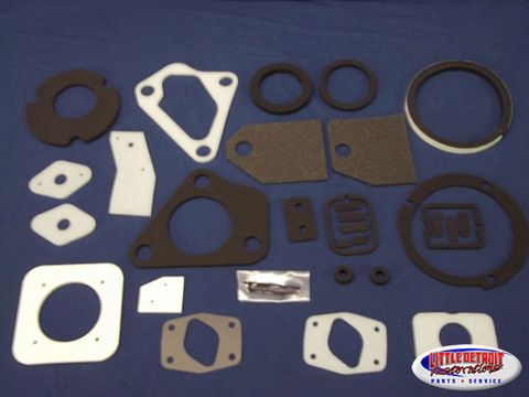 Firewall Gasket Set A-Body Non A/C 1967-72