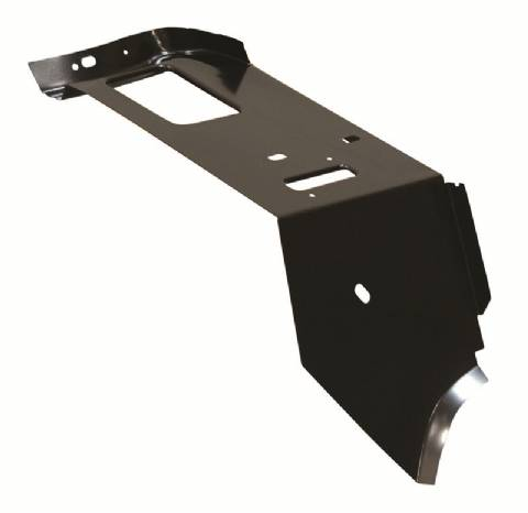68-70 B-Body Package Tray Panel Extension / Support - LH (Excludes Charger)