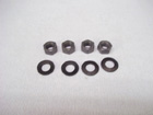 Engine Fan To Clutch Fastener Kit1964-1974