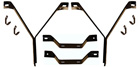 67-69 Plymouth Barracuda Front/Rear/Outer Bumper Bracket Set