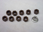 Axle  Fastener Kit Retaining Nuts 1964-74