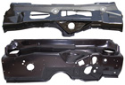 70-74 E-Body Firewall (w/o A/C) Upper/Lower Set (clip-on screen style)